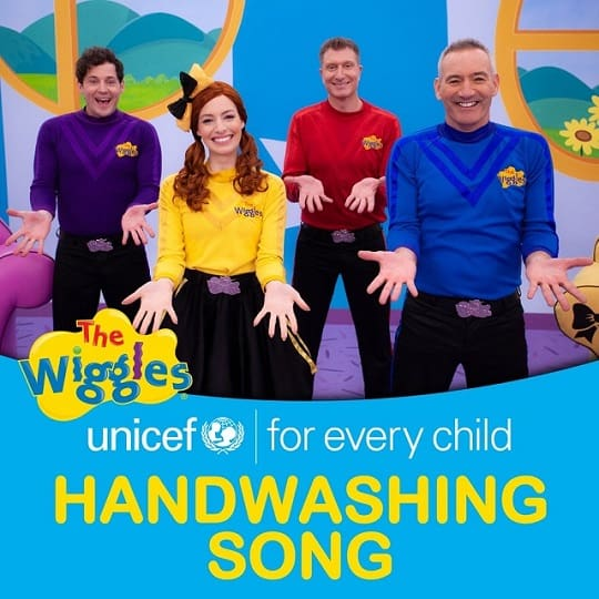 unicef handwashing song