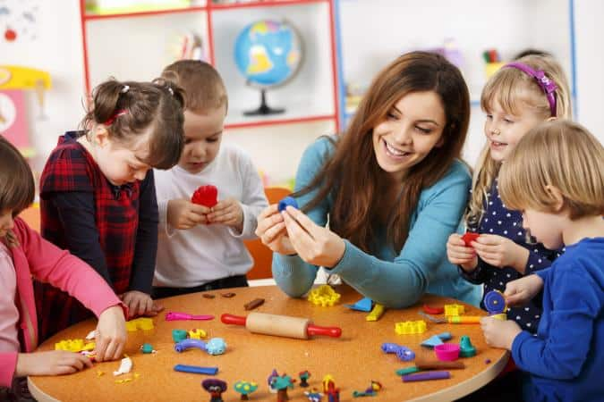 teacher-with-kids