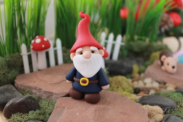 2. Cute garden gnomes for the kids