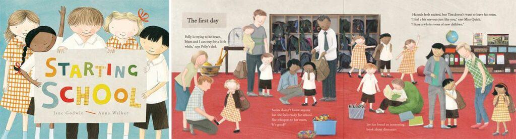 Jane Goodwin's 'Starting School